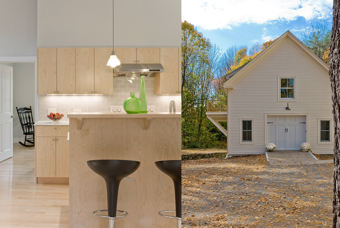 LEED Barn Conversion to Accessory Dwelling